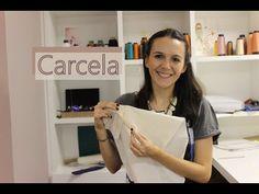 Esse tutorial ensina a costurar a carcela, que é a abertura em mangas de camisa social feminina e masculina.