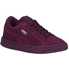 PUMA Suede Classic Boys' Grade School ($55) ❤ liked on Polyvore featuring shoes and sneakers