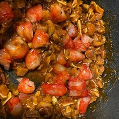 Oreja y carabinero! Plataco de hoy... Ratatouille, Instagram, Ethnic Recipes, Food, Board, Essen, Meals, Yemek, Eten