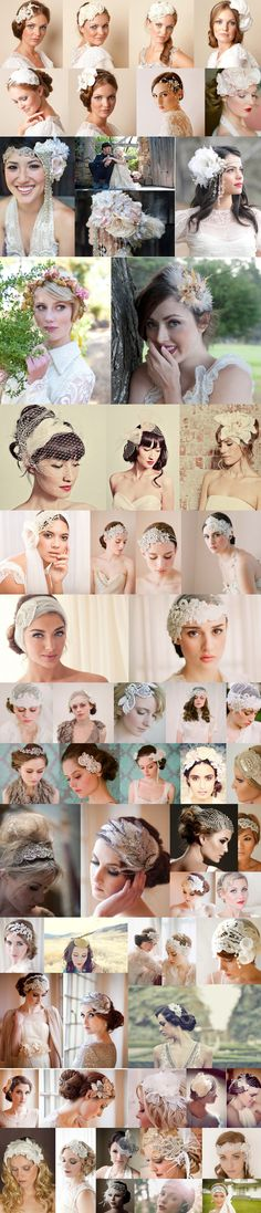 Bridal Headpieces & Veils... dare to be different!