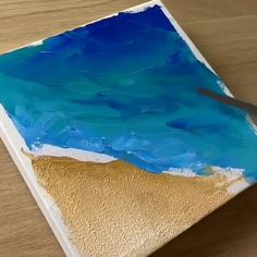 😍 Great art by: Wow Art (YöuTube) - Amazing!😍 Great art by: Wow Art (YöuTube) Canvas Painting Tutorials, Diy Canvas Art, Canvas Canvas, Art Sur Toile, Grand Art, Ideias Diy, Wow Art, Art Drawings Sketches, Art Techniques