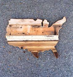 USA. Made by Pombo Art. Custom 2ft reclaimed wood ( order: avepom@yahoo.com )