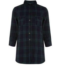 Green check boyfriend shirt. £19.99 via New Look