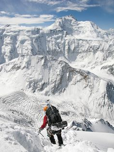 Pik Korzhenevskaya (7105m, Pamirs)