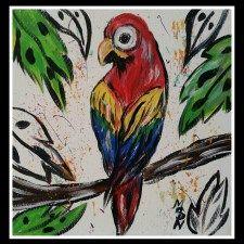 Artsy Macaw