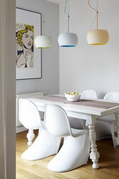 Panton Style Chair http://www.cadesign.ie/furniture/dining-chairs/panton-chair/
