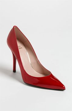 Why, hello, Naughty!  Pleased to meet you!  Stuart Weitzman 'Naughty' Pump | Nordstrom