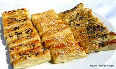 Nejedlé recepty: Slané tyčky z listového těsta Spanakopita, Appetizers, Ethnic Recipes, Food, Appetizer, Essen, Meals, Entrees, Yemek