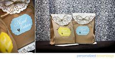 diy paper bag favors