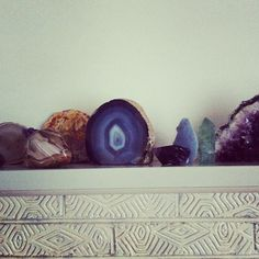 Mantel piece, December 2012.