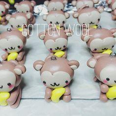 Kawaii Klub - Mini monkeys army charms are ready to be baked!! #madetoorder #monkey #monkeyyear #polymerclay #polymerclaycharmsforsale #polymerclaycharms #polymerclaycreations #polymerclayart by cottonwoolshop - #kawaii #kawaiiklub #cute #toocute #fave #love #perfect #amazing #awesome #nice #doubletap #good #best #heart #happy #beautiful #fun #smile #like #style #pretty #beauty