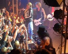 Watch Guns N Roses Play Their First Reunion Show