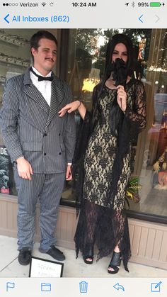 Mannequin Night 2016 The Addams Family  Gomez and Morticia