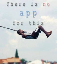 There is NO App for This!!