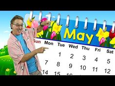 This May calendar song teaches about the month of May. Sing along and learn that May is the month of the year. Money Songs For Kids, Music For Kids, Kindergarten Graduation Songs, Kindergarten Prep, Calendar Songs, Calendar Time, School Songs, School Lessons, Fun Songs