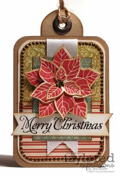 Merry Christmas Tags by deconstructingjen - Cards and Paper Crafts at Splitcoaststampers