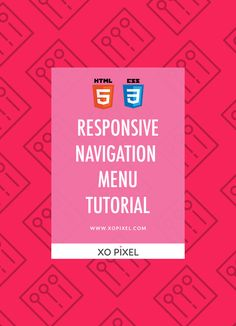 Hey Pixels, In this weeks tutorial,I'll be showing you how to create a really simple responsive navigation menu with HTML5 & CSS3. We'll also be using media queries to help make the menu responsiveso it can be used on any mobile device. Coding the HTML First, we're going to write the HTML. This code is …