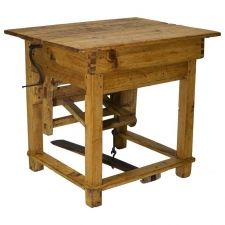 Century Austrian Table Mangle or Clothes Press Antique Pine Furniture, Vintage Furniture For Sale, Cool Furniture, Antique Tables, Vintage Farm, Vintage Table, Pine Table, 18th Century, Antiques