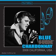 Top 10 Unique Gifts for the Elvis Fan: Blue Suede Chardonnay