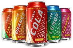 pictures of soft drinks | of Australian children are regularly consuming carbonated soft drinks ...