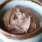 No Cook Chocolate Pudding -- just three ingredients, blenderized! With raw cacao, this makes a rich but reasonable splurge.