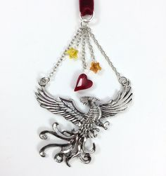 Order of the Phoenix Ornament by Mistress Jennie on Etsy