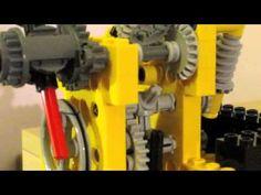 LEGO Mini Clock - YouTube Lego Wedo, Lego Projects, Lego Instructions, Handmade Art, Legos, Clock, Lego Stuff, Robotics, Cool Stuff