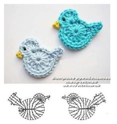 Best 12 Crochet Birds – DIY Ideas for Creativity – DIY Ideas – Salvabrani Source by dgdkkprc Crochet Birds, Crochet Butterfly, Easter Crochet, Crochet Bunny, Crochet Flowers, Crochet Diagram, Crochet Chart, Crochet Motif, Irish Crochet
