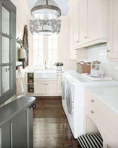 Laundry Room Inspiration- great ideas