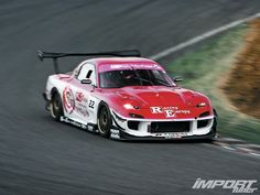 Pro Staff R Magic Pink Number 4 FD3S RX-7 from Import Tuner.