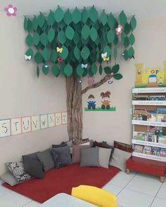reading area in classroom Classroom Setting, Classroom Setup, Classroom Design, Kindergarten Classroom, Future Classroom, Classroom Organization, Reading Corner Classroom, Kindergarten Reading Corner, Childrens Reading Corner