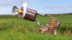 free energy generator - outside - filmed in one take