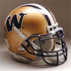 Washington Husky Football Helmet