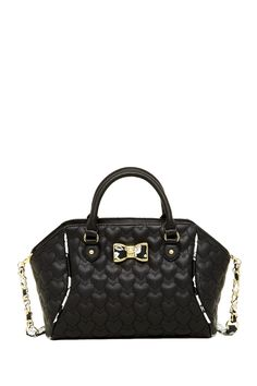 Be My Bow Large Satchel by Betsey Johnson on @nordstrom_rack