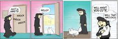 Kitty at Don't Pick the Flowers Comic Strip on GoComics.com