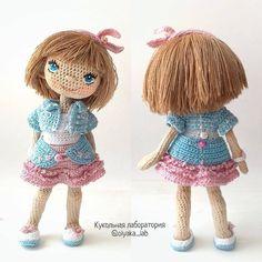 204 отметок «Нравится», 2 комментариев — Куклы. Волшебство. Вдохновение (@dolls_inspiration) в Instagram: «@olyaka_lab ・・・ #olyaka_lab #коллажоляки #кукольнаялабораторияоля_ка #кукла #crochetdoll…»