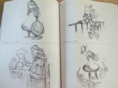 Artbook: D's Journal illustrations