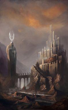 The Elders City by RaVirr17 on DeviantArt