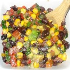 Black Bean Salad @ allrecipes.co.uk