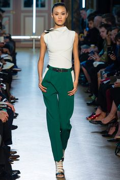 PARIS SPRING 2013 RUNWAY : ROLAND MOURET she's not the secretary, take a guess……