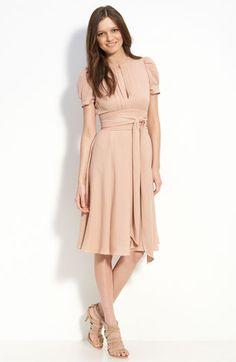 MARC BY MARC JACOBS Puff Sleeve Silk Dress