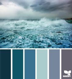ocean themed color palette - Google Search