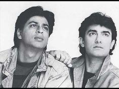 shahrukh khan and amir khan.