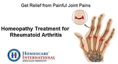 Arthritis is a joint inflammation. A joint is an area of the body where two different bones meet. Rheumatoid Arthritis is one form of arthritis. It is caused due to lack of immunity power. Difficulty in joint movement, joint swelling, stiffness and pain are some common symptoms of arthritis. Homeocare International provides world class homeopathic treatment for arthritis across the South India. So approach Homeocare International and free from joint inflammation.