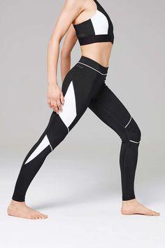 Colour Block Ankle Leggings by Ivy Park - Ivy Park - Clothing - Topshop USA