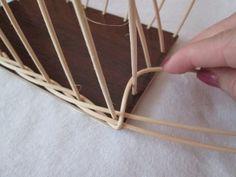 Rohová přesmyška Alice, Dna, Crochet, Baskets, Tejidos, Wicker, Blue Prints, Basket Weaving, Crochet Hooks