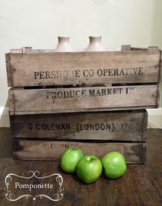 Vintage Damson Boxes - now available   Pomponette   Leicester