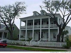 Charles W. Adams Mansion Built in 1860, Galveston, TX