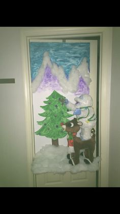christmas office door. Christmas Office Door Decorating Competition.