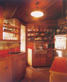 Walker Residence.1924. Carmel California. Usonian Style. Frank Lloyd Wright